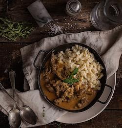 © Dušan Křístek, f-production - Fotenie jedla